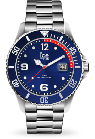 Montre Montre Homme ICE steel Silver Blue 015771 - Ice-Watch - Vue 0