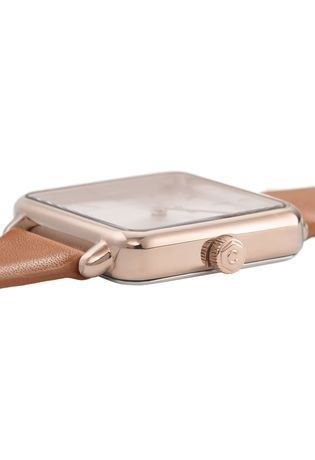 Montre Montre Femme La Tétragone - Rose Gold /Butterscotch CL60010 - Cluse - Vue 1