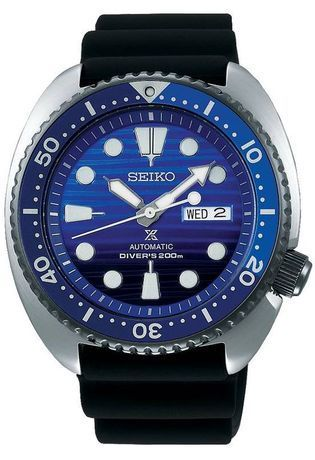 Montre Montre Homme Prospex Automatique Save the Ocean SRPC91K1 - Seiko - Vue 0