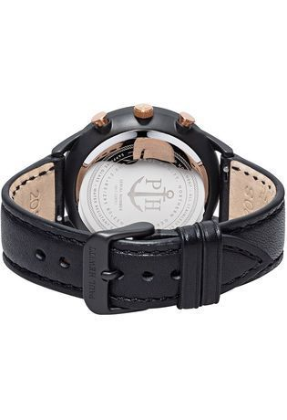 Montre Montre Homme Chrono Line - Black Sunray/Rose Gold  PH-C-B-BSR-2M - Paul Hewitt - Vue 1