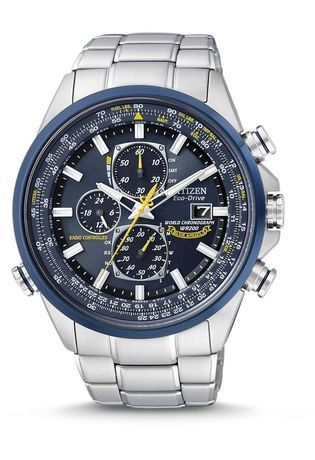 Montre Montre Homme Eco Drive Blue Angels  AT8020-54L - Citizen - Vue 0