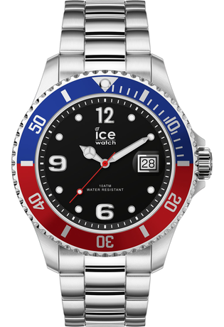 Montre Montre Homme ICE steel United Silver L 016547 - Ice-Watch - Vue 0