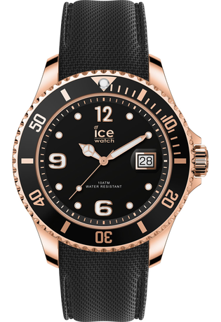 Montre Montre Femme, Homme ICE steel Black Rose Gold M 016765 - Ice-Watch - Vue 0