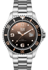 Montre Montre Homme ICE steel Black Sunset Silver M 016768 - Ice-Watch