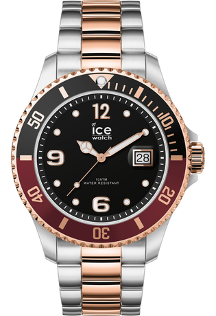 Montre Montre Homme ICE steel - Silver Rose Gold L 016548 - Ice-Watch - Vue 0
