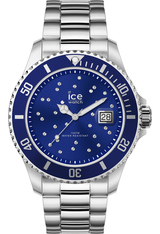 Montre Montre Femme ICE steel Blue Cosmos Silver M 016773 - Ice-Watch
