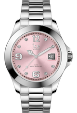 Montre Montre Femme ICE steel - Light Pink Silver Stones M 016776 - Ice-Watch