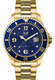 Montre Montre Homme ICE steel- Gold Blue L 016762 - Ice-Watch
