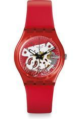 Montre Montre Femme, Homme Rosso Bianco GR178 - Swatch