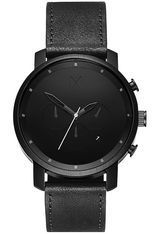 Montre Montre Homme Chrono Series - Black Leather D-MC01BL - MVMT