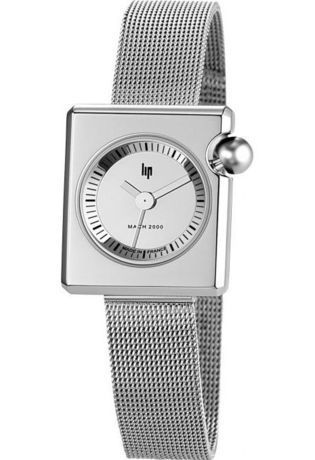 Montre Montre Femme MACH 2000 Mini Square Metal 671108 - LIP - Vue 0