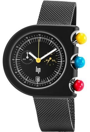 Montre Montre Homme MACH 2000 Chrono Metal 671085 - LIP
