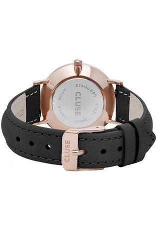 Montre Montre  Minuit Rose Gold White/Black CW0101203020 - Cluse - Vue 1