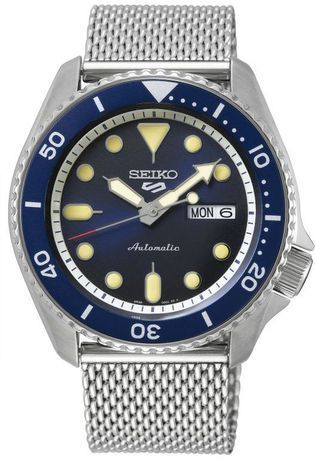 Montre Montre Homme Suits SRPD71K1 - Seiko 5 Sports - Vue 0