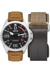 Montre Montre Homme Coffret P-51 Mustang Bottisham Automatic AV-4069-01 - AVI-8