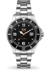 Montre Montre Femme, Homme ICE steel - Black Silver S  017323 - Ice-Watch