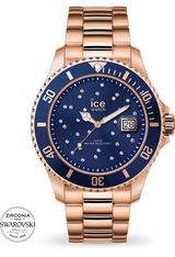 Montre Montre Femme ICE steel - Blue Cosmos Rose Gold M 016774 - Ice-Watch