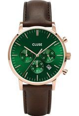 Montre Montre Homme Aravis Chrono Leather CW0101502006 - Cluse
