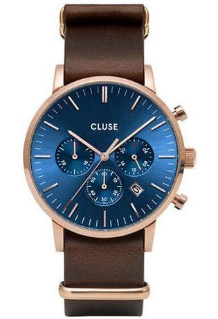 Montre Montre Homme Aravis Chrono Nato Leather CW0101502008 - Cluse - Vue 0