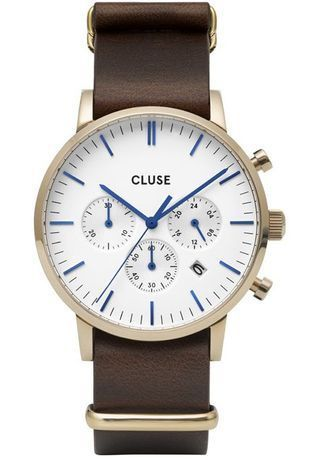 Montre Montre Homme Aravis Chrono Nato Leather CW0101502009 - Cluse - Vue 0