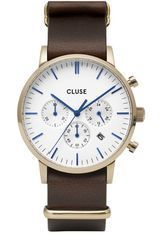 Montre Montre Homme Aravis Chrono Nato Leather CW0101502009 - Cluse