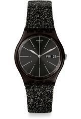 Montre Montre Femme, Adolescent, Enfant Glitternoir GB755 - Swatch