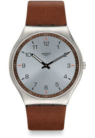 Montre Montre Homme Skin Suit Brown SS07S108 - Swatch - Vue 0