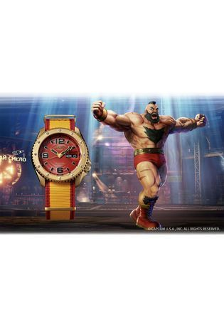 Montre Montre Homme Seiko 5 Sports x Street Fighter V SRPF24K1 - Seiko 5 Sports - Vue 1