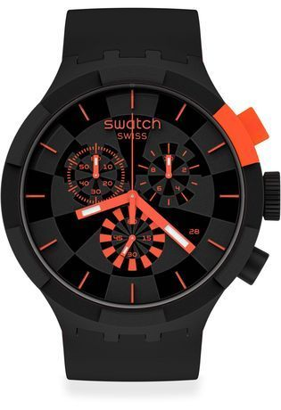 Montre Montre Femme, Homme Checkpoint Red SB02B402 - Swatch - Vue 0