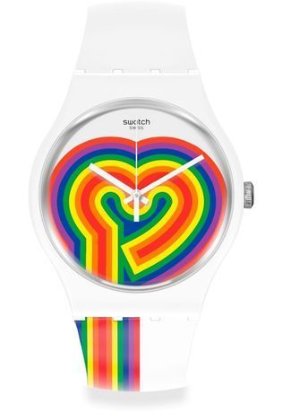 Montre Montre Femme, Homme Beating Love SUOW171 - Swatch - Vue 0