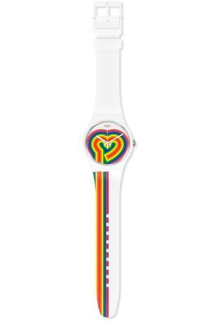 Montre Montre Femme, Homme Beating Love SUOW171 - Swatch - Vue 1