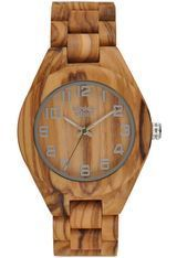 Montre Montre Homme Olive Wood ZW058A - Greentime