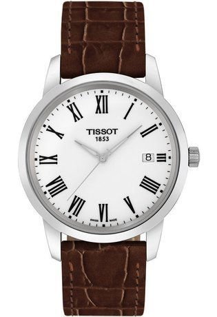 Montre Montre Homme Classic Dream Brown T0334101601301 - Tissot - Vue 0