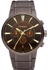 Montre Mens Dress - PVD Marron FS4357 - Fossil