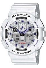 Montre G-Shock GA-100A-7AER - Casio