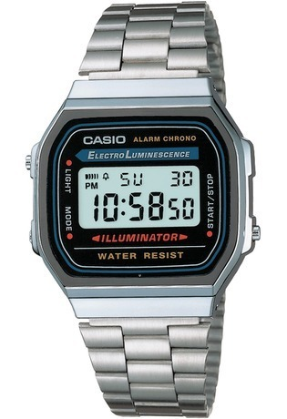 Montre Vintage A168WA-1YES - Casio - Vue 0