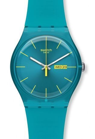 Montre Montre Femme, Homme Turquoise Rebel SUOL700 - Swatch - Vue 0