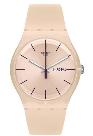 Montre Montre Femme Rose Rebel SUOT700 - Swatch - Vue 0