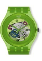 Montre Green lacquered SUOG103 - Swatch