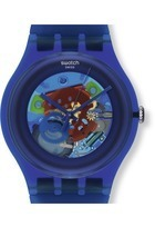 Montre Indigo lacquered SUON101 - Swatch