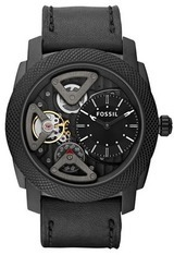 Montre Machine - Twist - Cuir Noir ME1121 - Fossil