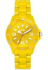 Acheter Montre Ice-Solid Jaune Unisexe - Ice-Watch