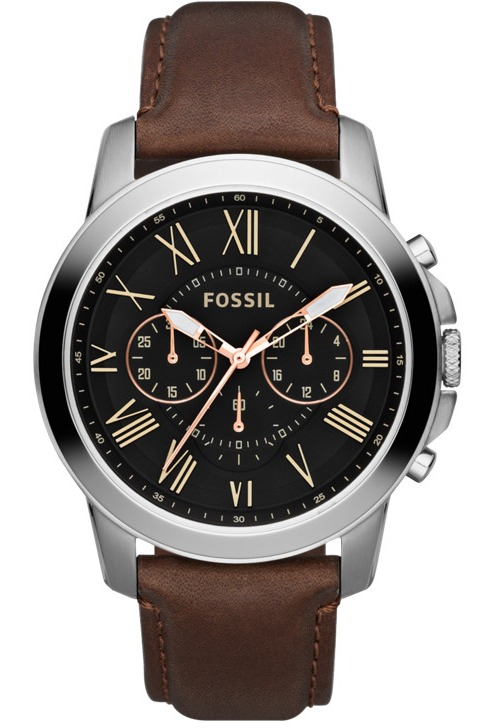 Top Montre Fossil Grant FS4813 Marron | Montres and Co PS98